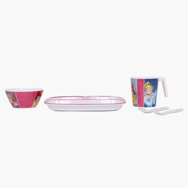 Disney Princess Dinner Set- 5 Pcs.