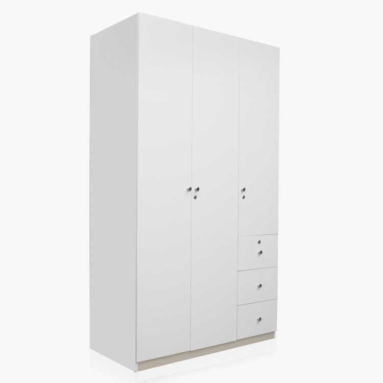Alps 3-Door Wardrobe