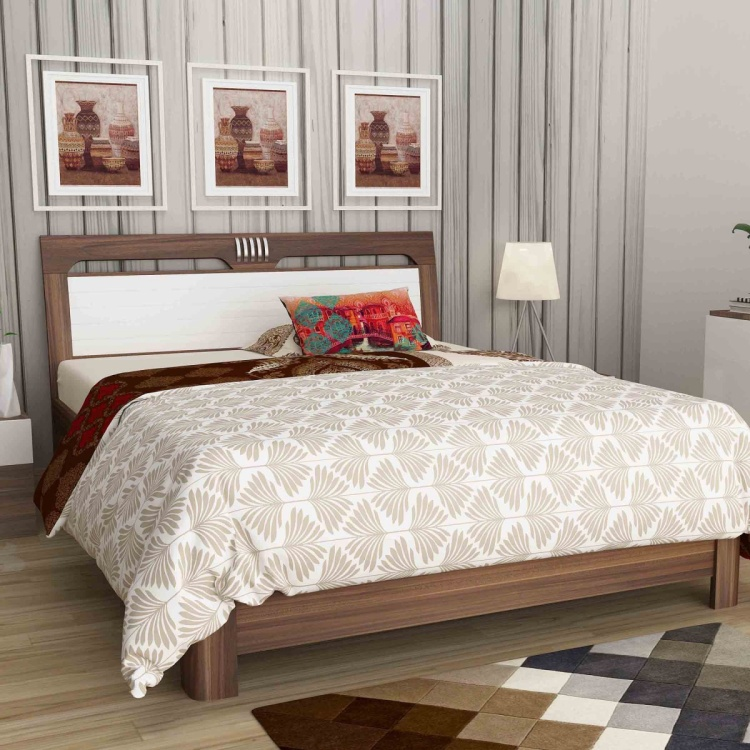 Akron Crystal Queen Size Bed  - 150X195 cm