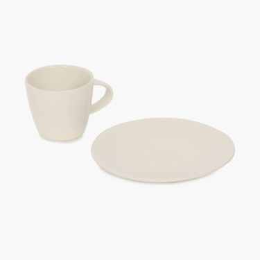 Nice and Easy Espresso Cup And Saucer