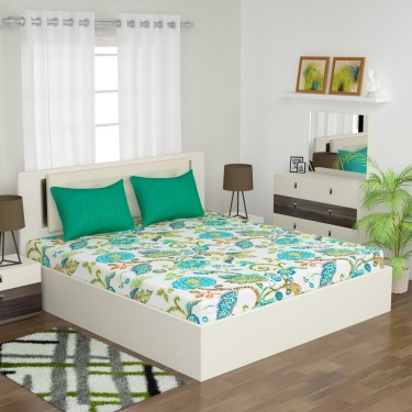 D'DECOR Elemental 3-Pc. Double Bedsheet Set - 228 x 274 cm