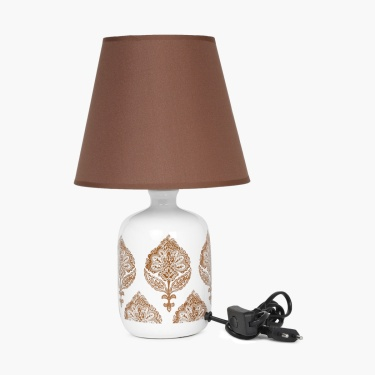 Radiance Ceramic Printed Table Lamp