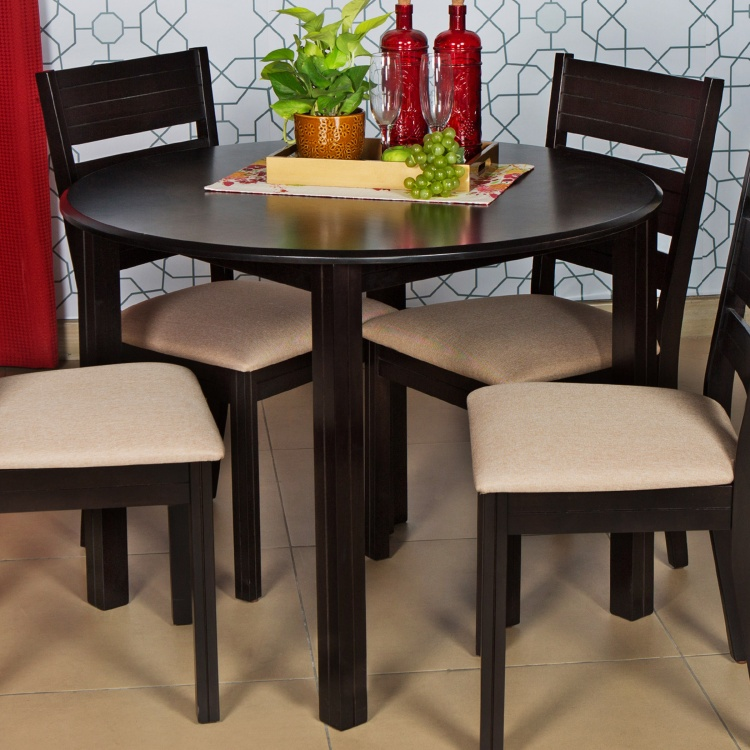 Round Dining Table- 4 Seater