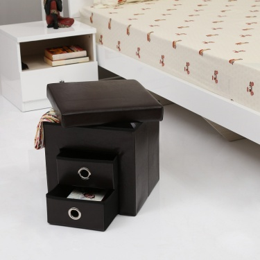 Sanderson Sit And Store Collapsible Ottoman