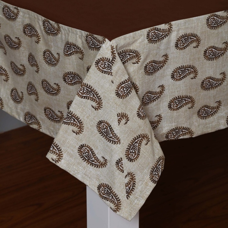 Meadows Golden Age Paisley Print Table Cloth- 150X200Cm