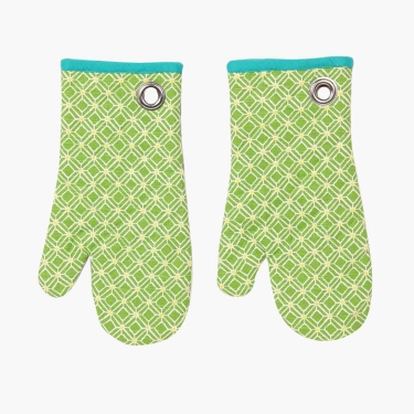 Meadows Metrix Cotton Oven Mitten Set- 2 Pcs