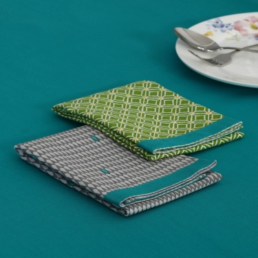 Meadows Metrix Cotton Kitchen Towel Set -2Pcs