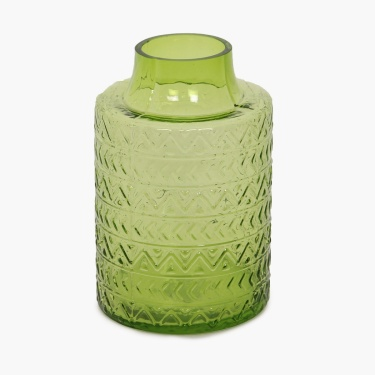 Splendid Textured Glass Vase