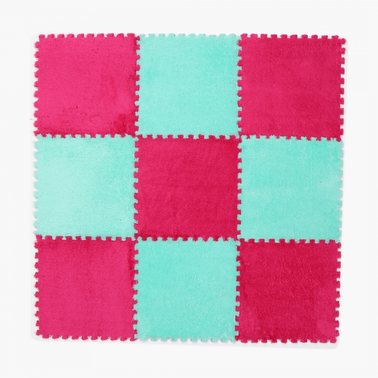 Fabulous 3 Fleece Playmats Set- 9 Pcs. (60x90)cms.