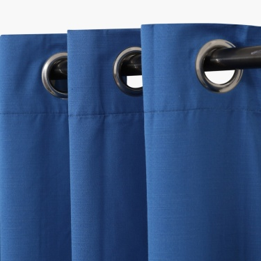 Colour Connect Blackout Window Curtain Pair - 135 X 160 cm