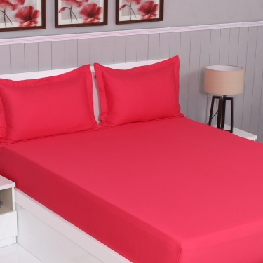 Colour Connect 3-Pc. Double Bedsheet Set - 274 X 274 cm