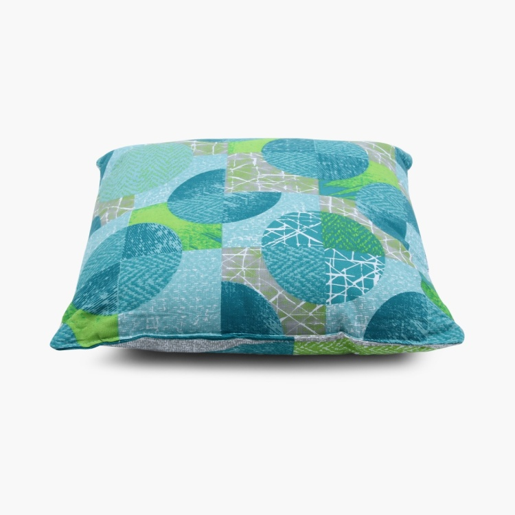 Ebony Grace Printed Filled Cushion Set- 2 Pcs.