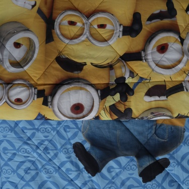 SPACES Minions Reversible Quilt
