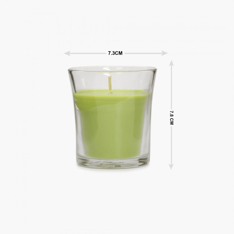 Colour Connect Jar Candle- Green Apple