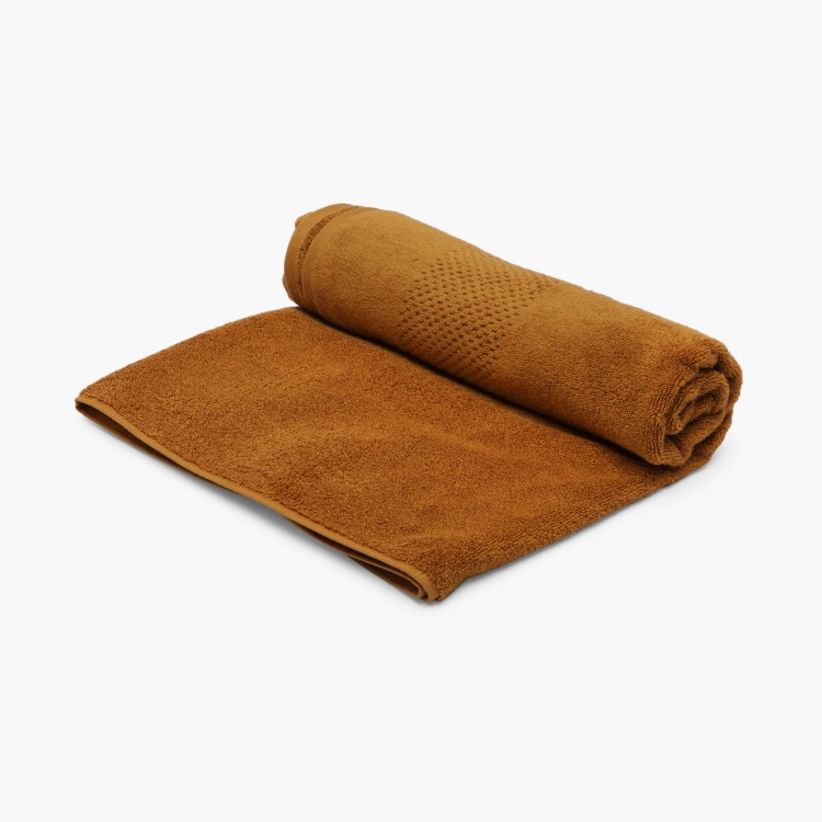 SPACES Solid Textured Bath Towel