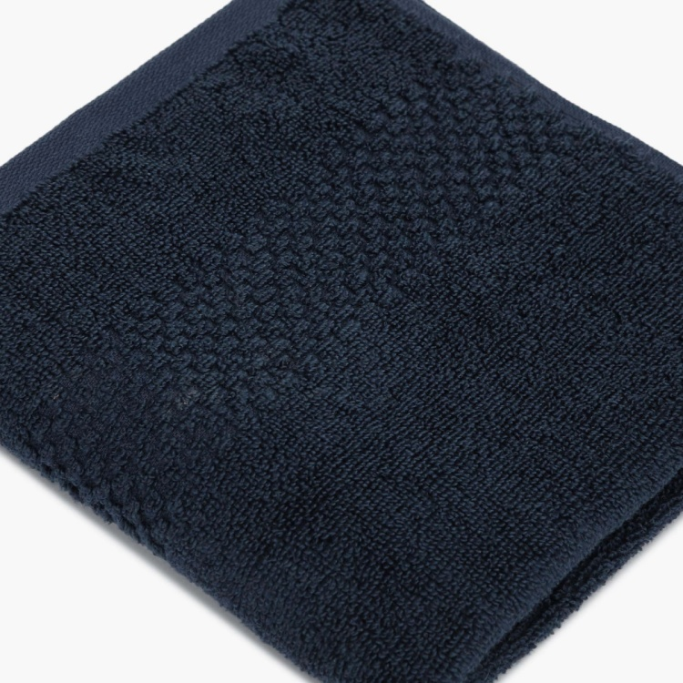 SPACES Textured Cotton Hand Towel