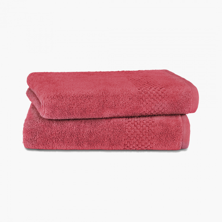 SPACES Solid Textured Hand Towel