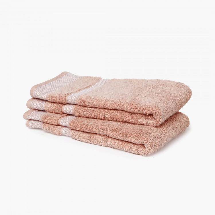 SPACES Cotton Hand Towels - Set of 2 Pcs.
