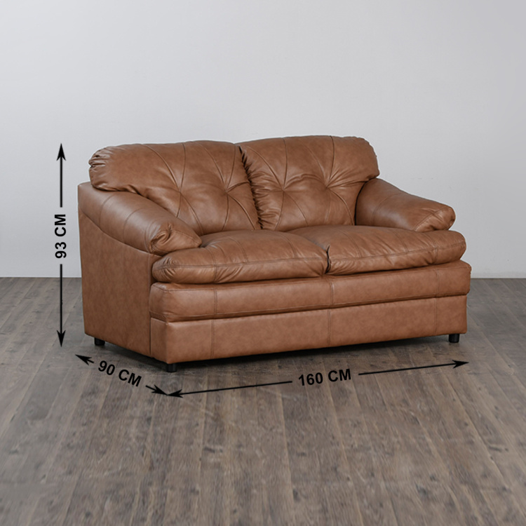 New Napster Half Leather 2-Seater Sofa