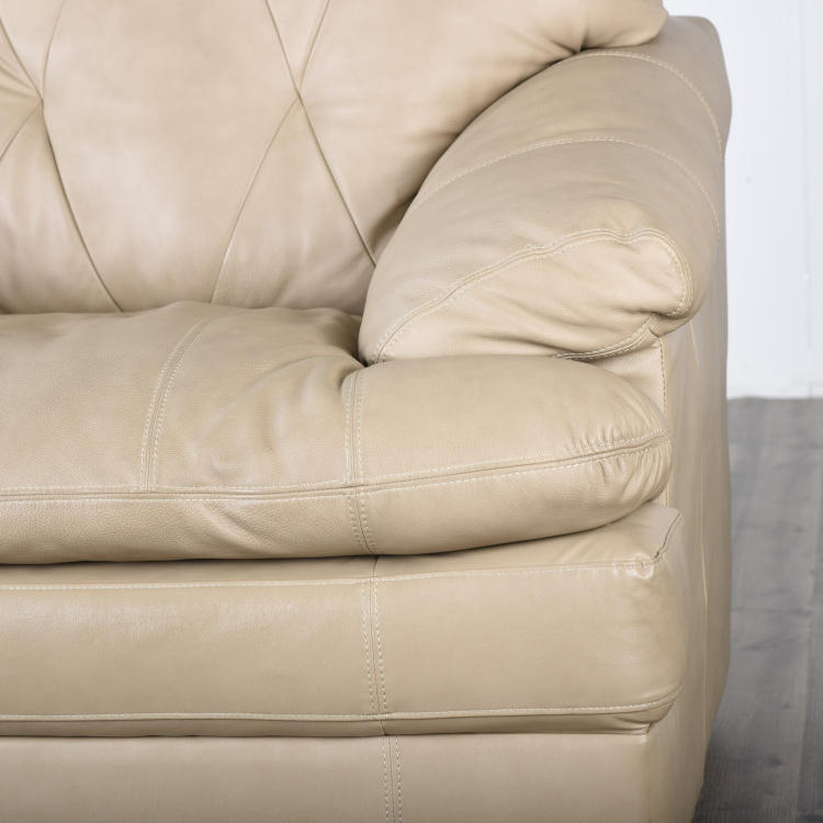 New Napster Half Leather 1-Seater Sofa