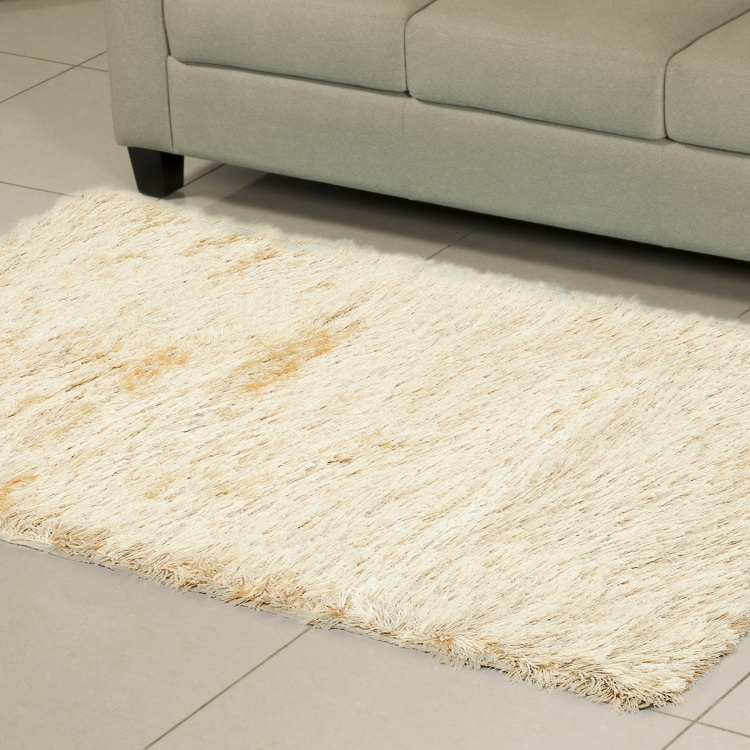 Eyelash Solid Rectangular Carpet - 90 x 150 cm