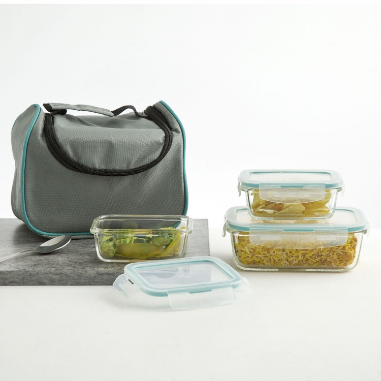 Palestine Lunch Container-Set Of 3 Pcs.