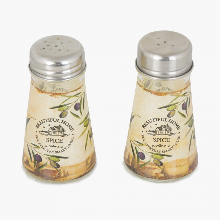 Beautiful Home Printed Salt And Pepper Set