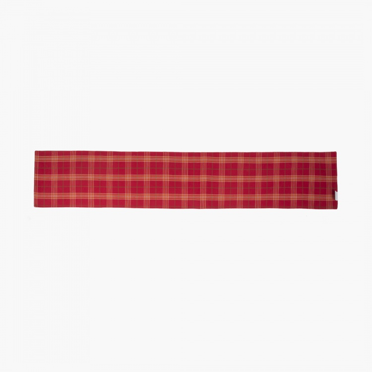 Meadows Bohemian Sunset Checkered Table Runner