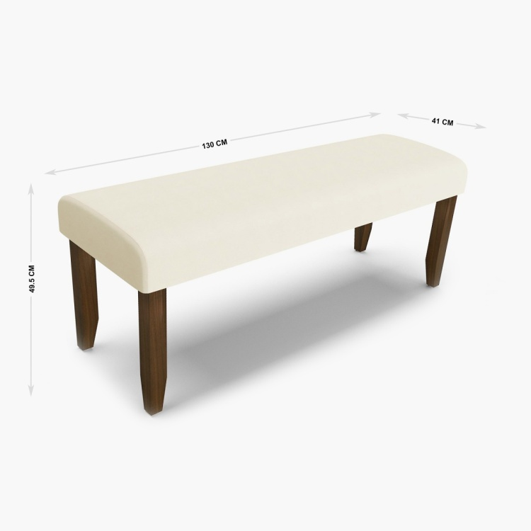Crystal Dining Bench
