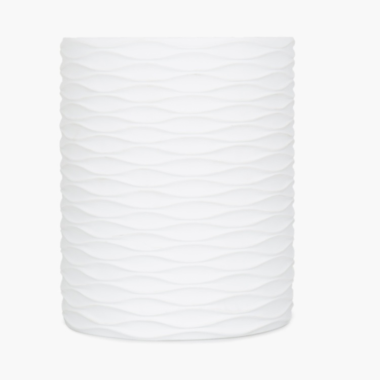 MARSHMALLOW Textured Dust Bin