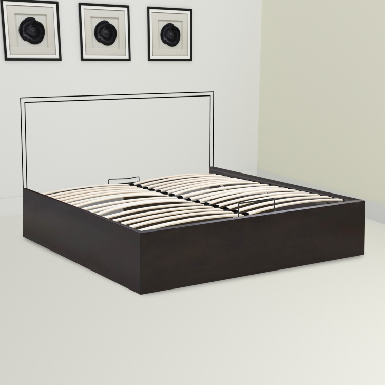 Montoya Hydraulic Storage Queen Size Bed