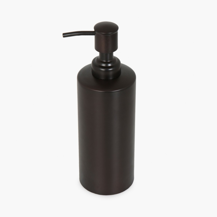 Hudson Adelineoil Solid Steel Round Soap Dispenser