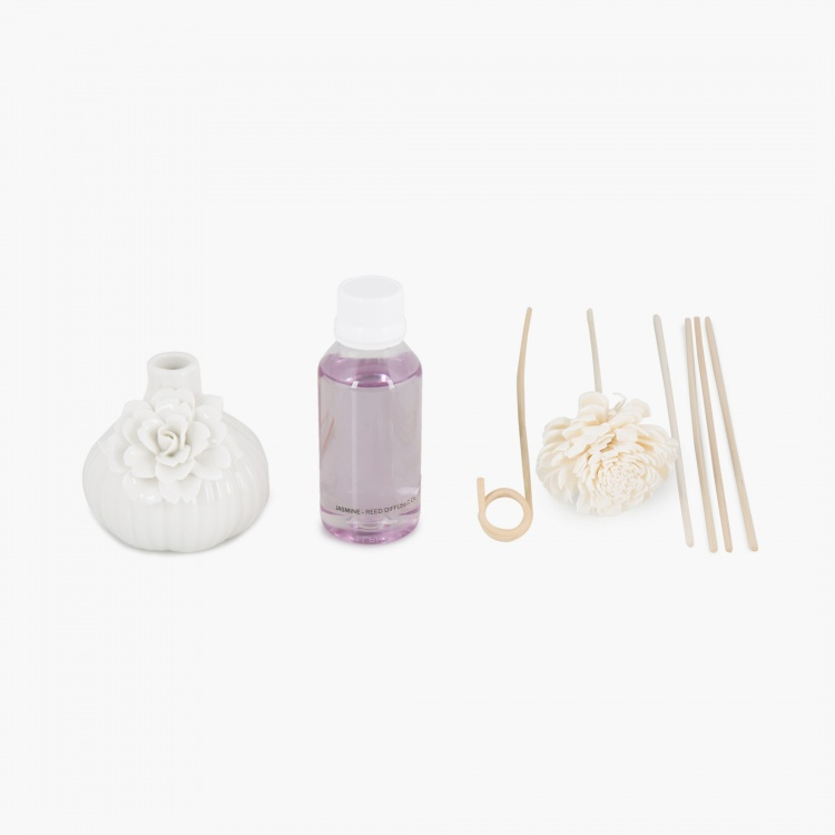 Redolence Bella Ceramic Reed Diffusers-Set Of 8 Pcs