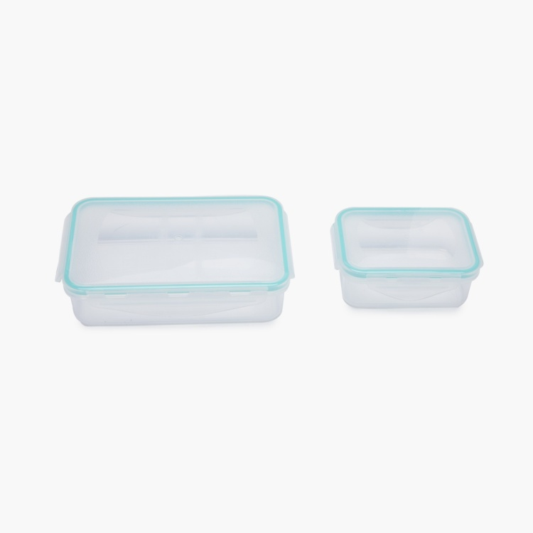 Korobka Solid Plastic Lunch Bag Set