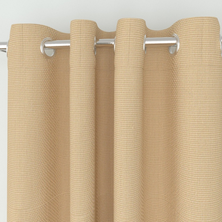 Seirra Solid Solid Semi-Blackout Door Curtains - Set of 2 - 110 x 225 cm