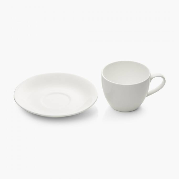 Riva Bone China Cup & Saucer Set