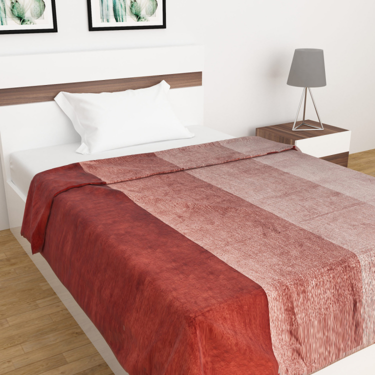 Radiant Textured Flannel Double Blanket - 200 x 240 cm