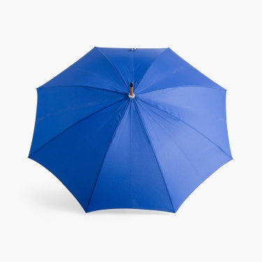 Canopy Solid Umbrella with Wooden Handle - 12.5 x 89 cm