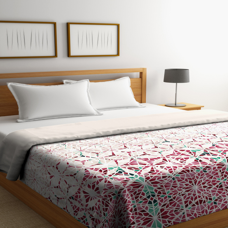 SPACES Akush Printed Double Comforter - 218 x 270 cm