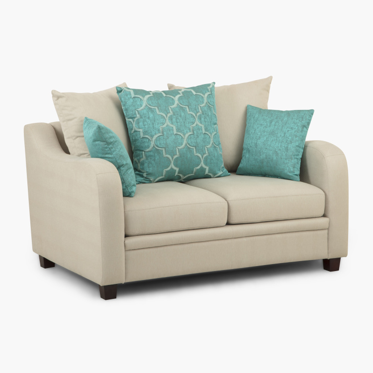 Phoenix Solid 2-Seater Sofa