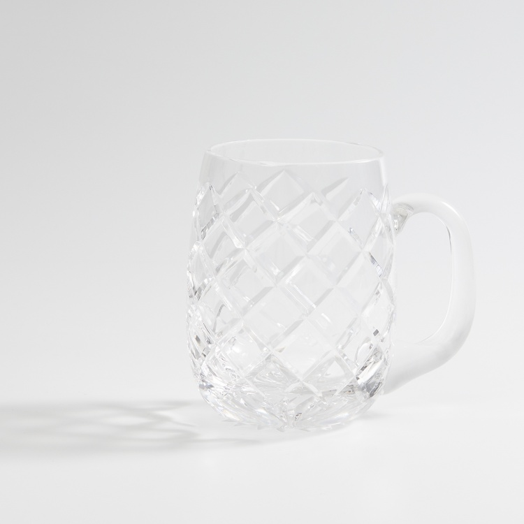 SOLITAIRE Diamond Beer Mugs - Set of 2