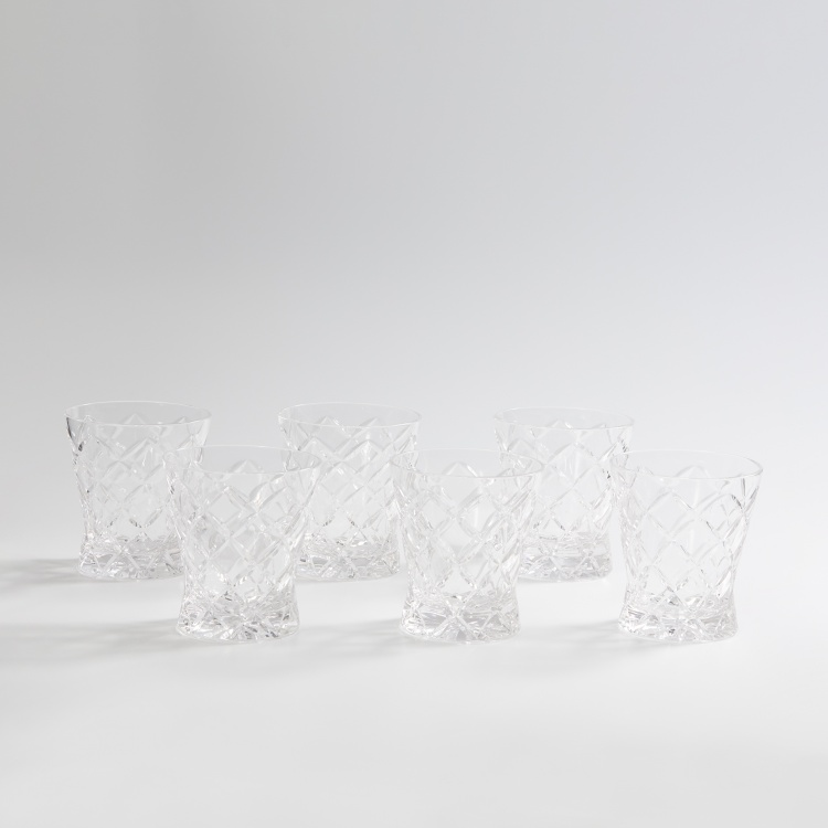 SOLITAIRE Talia - Tudor Whiskey Glasses - Set of 6