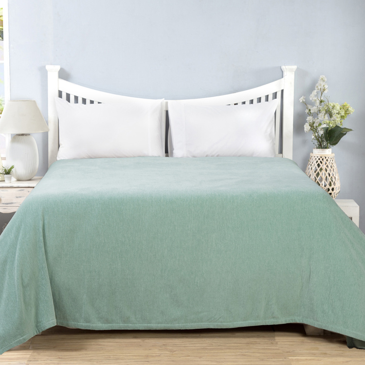 MASPAR Jessica Dusty Textured Single Bed Cover - 152 x 228 cm