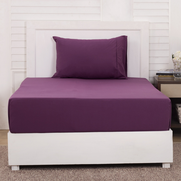 MASPAR Slumber 2-Piece Single Bedsheet Set  - 152 x 224 cm