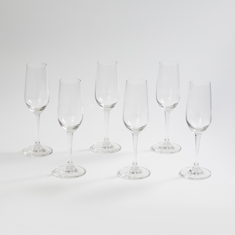 OCEAN  6-piece Lexington Flute Champagne Glass set - 185 ml