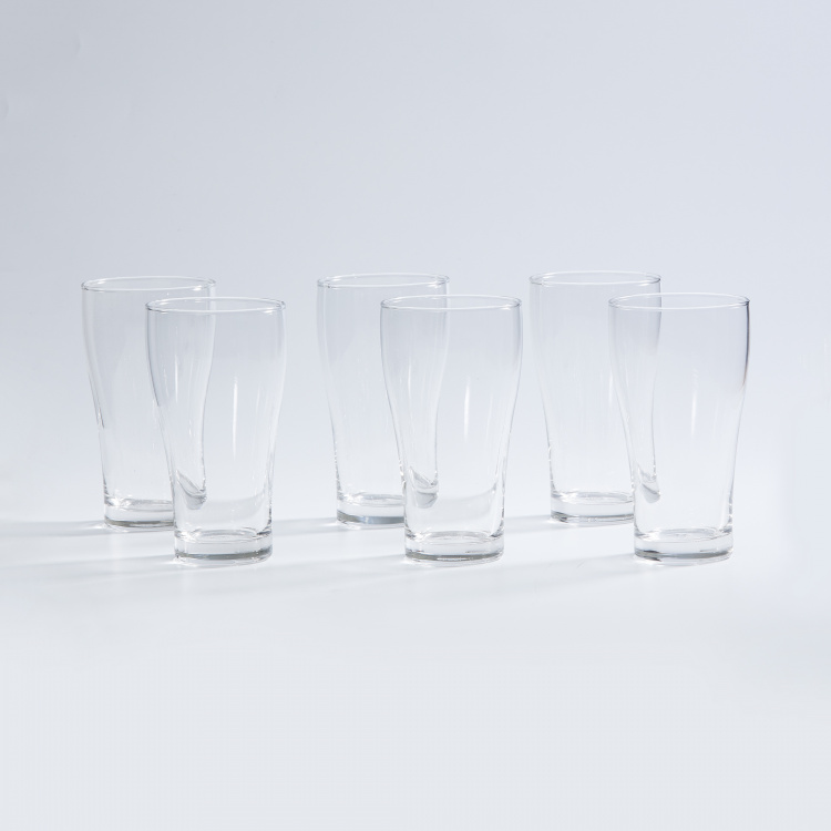 OCEAN  6-piece Round Beer Glass set - 425 ml