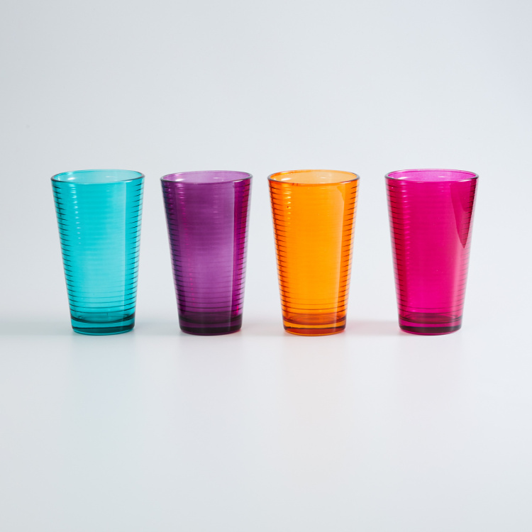 Carley Round Cooler Glasses - Set of 4 - 465 ml