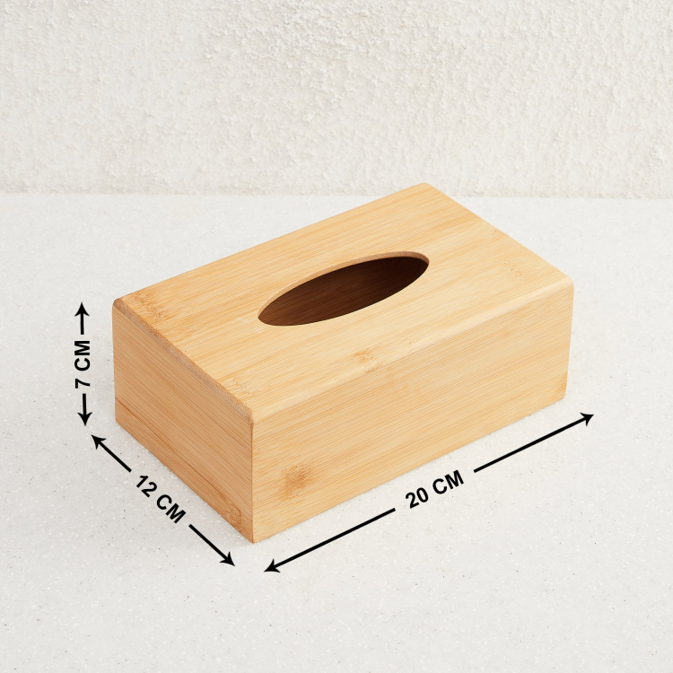 Hudson Textured Tissue Box