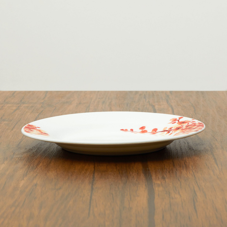 Lucas-Floreale Printed Round Bone China Side Plate