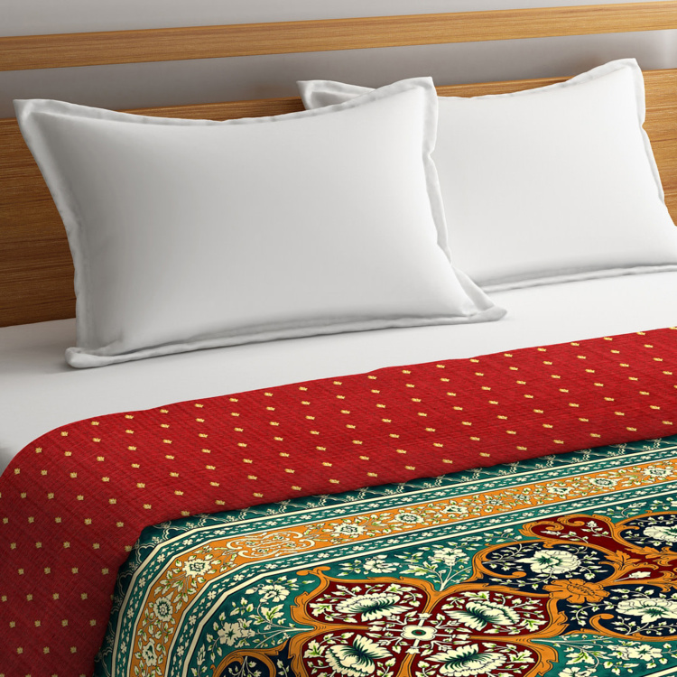 PORTICO NEW YORK Shubmangalam King Size Comforter - 224 x 274 cm